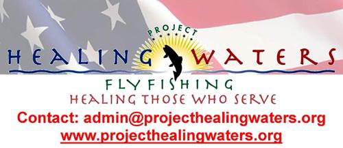 project healing waters flyfishing