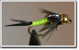 Chartreuse Copper John